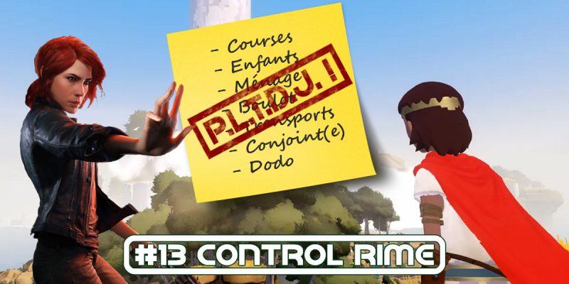 PLTDJ #13 Control Rime