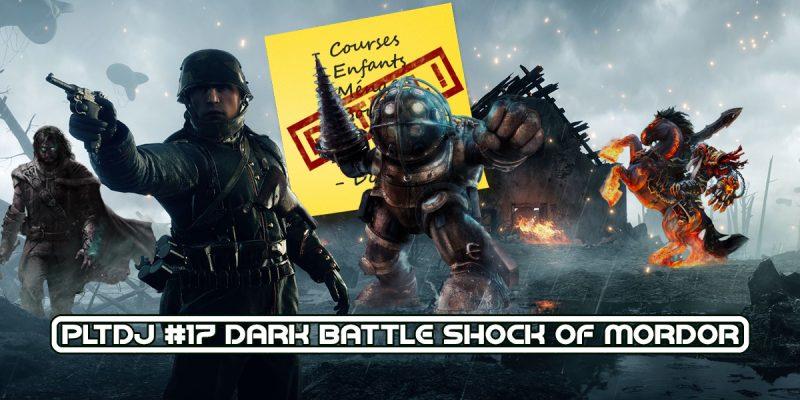 PLTDJ-17 Dark battle shock of mordor